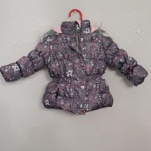 Baby girl snow coat